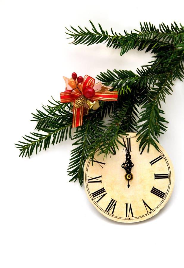 Kerstmis en nieuwe jaardecoratie stock foto