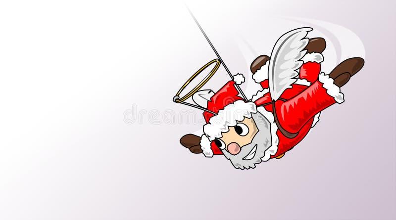 Kerstmis-engel vector illustratie