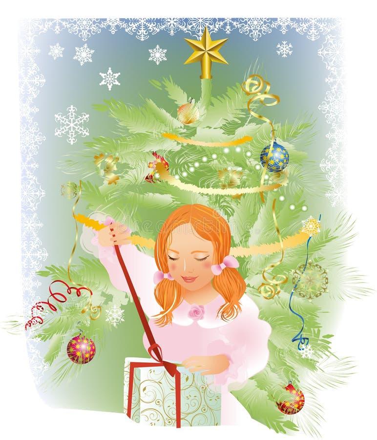 Kerstmis gift vector illustratie
