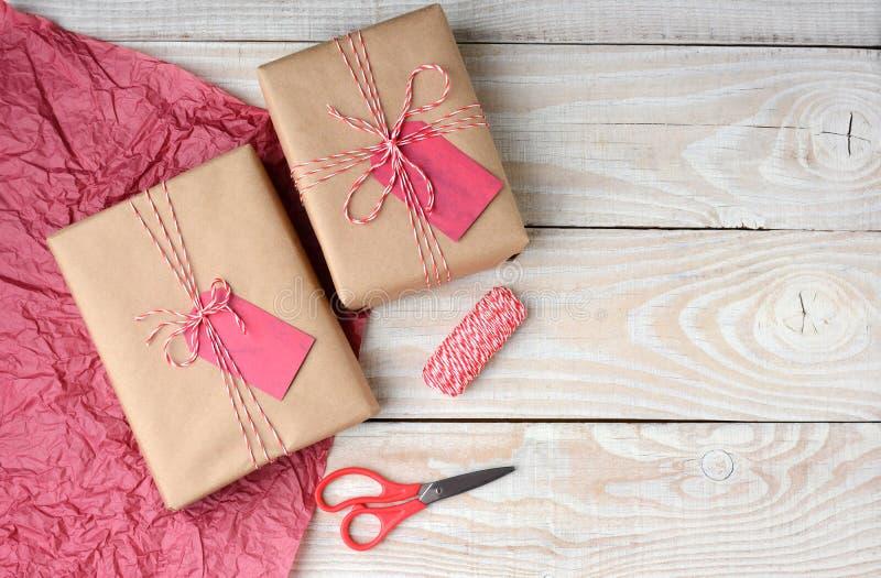Kerstmis het Huidige Verpakken stock fotografie