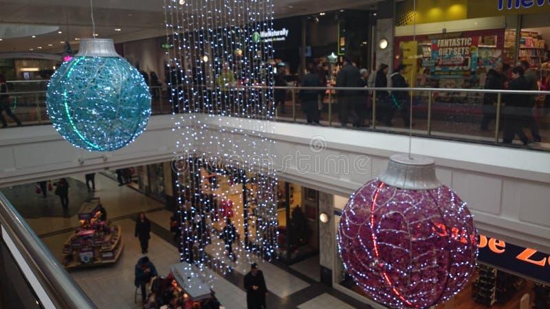Kerstmis het winkelen royalty-vrije stock fotografie