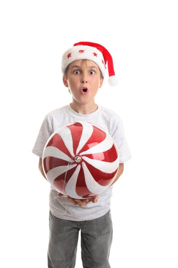 Kerstmis is hier stock fotografie