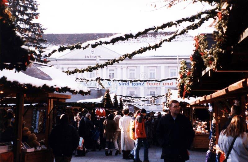 Kerstmis in klagenfurt stock afbeeldingen
