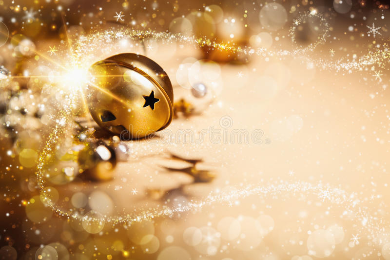 Kerstmis magische achtergrond royalty-vrije stock foto's