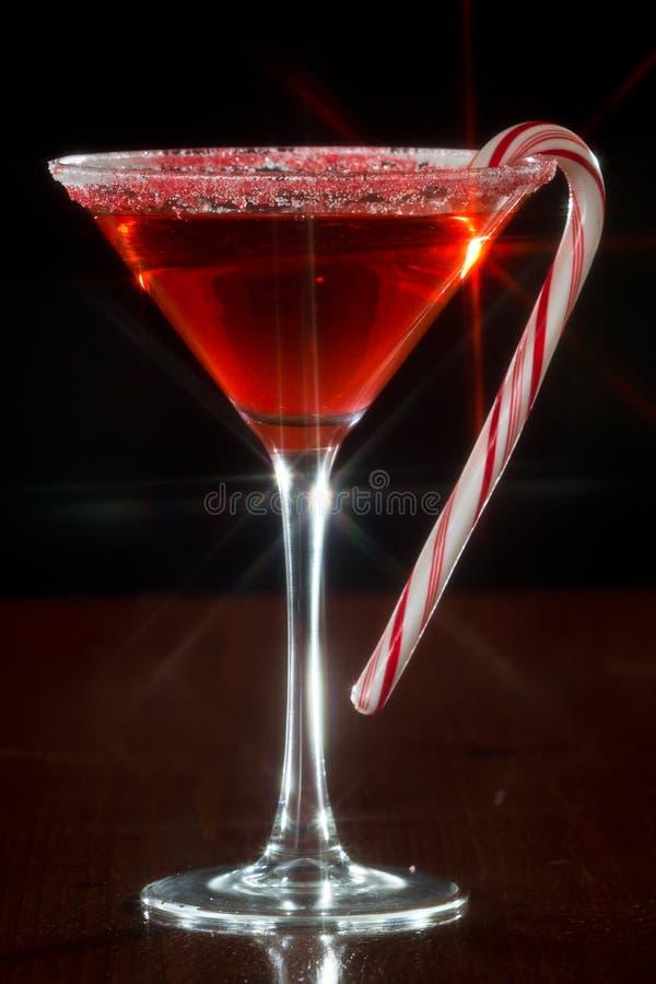 Kerstmis Martini stock afbeelding