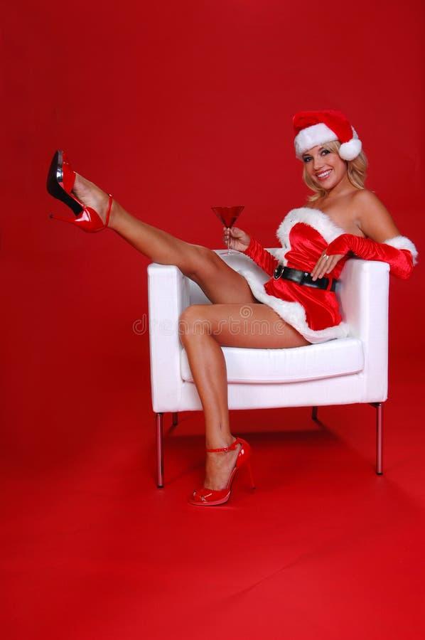 Kerstmis Martini royalty-vrije stock foto's