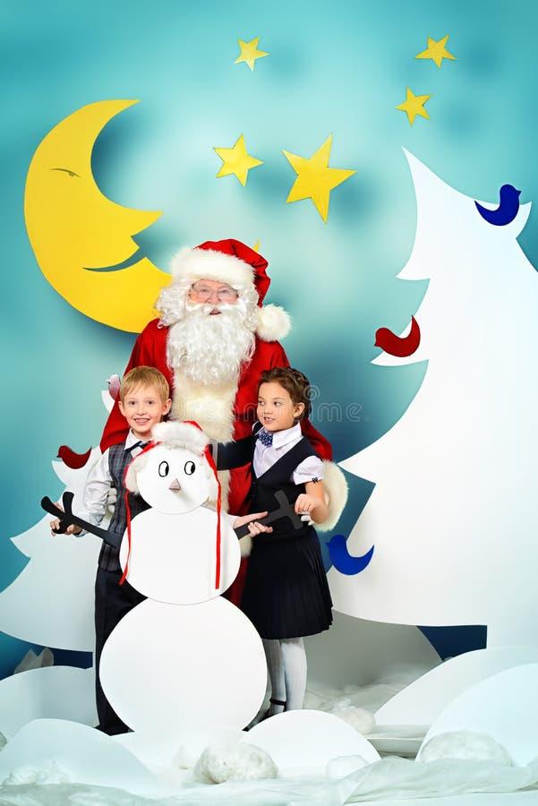 Kerstmis op school vector illustratie