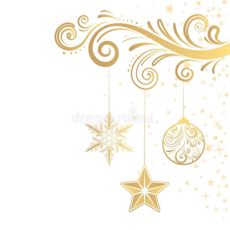 Kerstmis ornament royalty-vrije illustratie