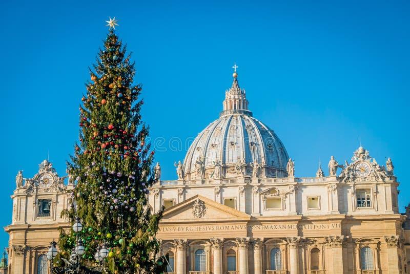 Kerstmis in Rome royalty-vrije stock foto's