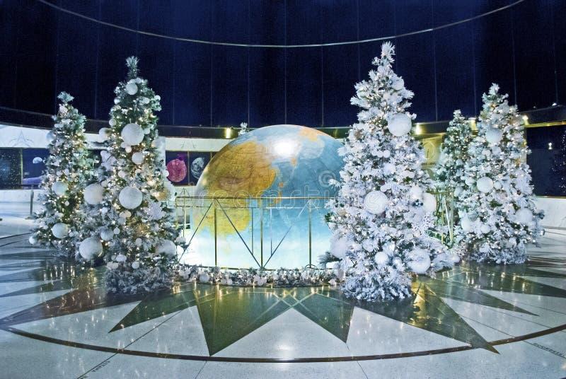 Kerstmis rond de Wereld royalty-vrije stock fotografie