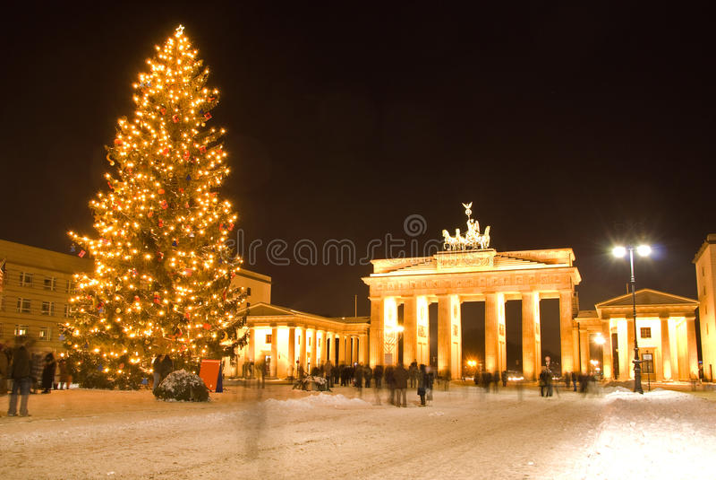 Kerstmis van Berlijn royalty-vrije stock foto's