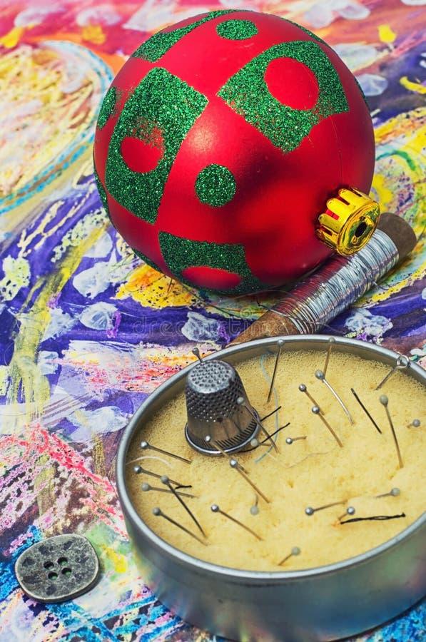 Kerstmis van de de wintervakantie stock foto's