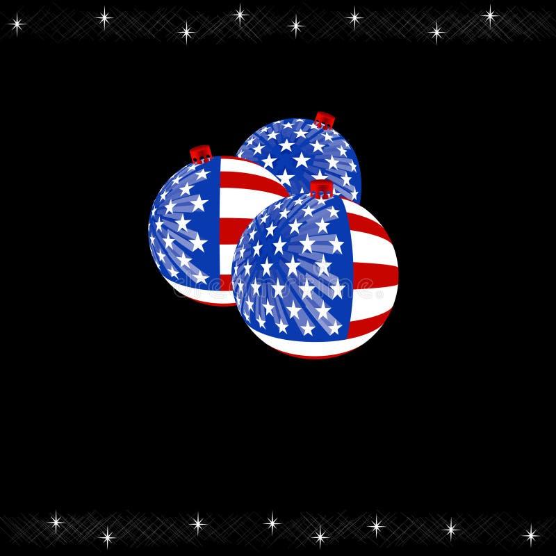 Kerstmis van de V.S. vector illustratie