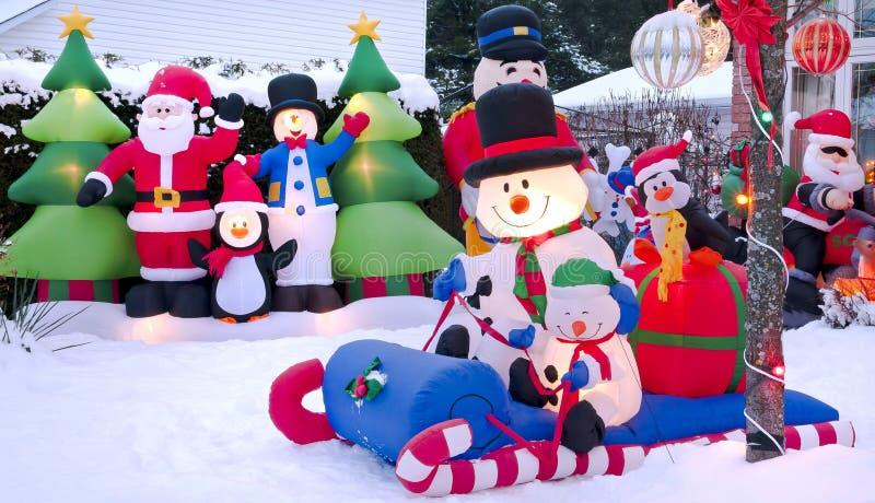Kerstmis van het beeldverhaal stock afbeeldingen