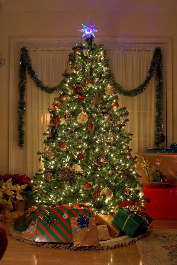 Kerstmis van het huis stock fotografie