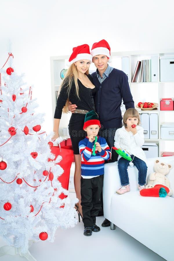 Kerstmis van het huis stock afbeeldingen