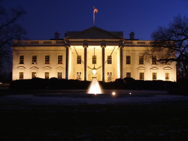 Kerstmis van het Witte Huis stock foto's