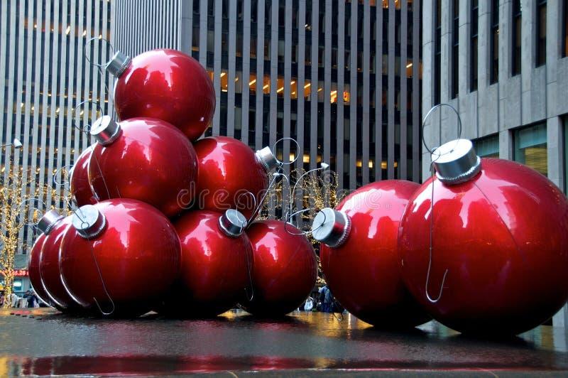 Kerstmis van New York royalty-vrije stock fotografie