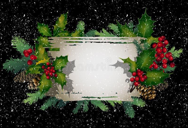 Kerstmis vectorontwerp royalty-vrije illustratie