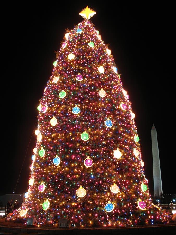 Kerstmis in Washington D.C stock foto