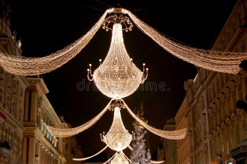 Kerstmis in Wenen royalty-vrije stock afbeelding