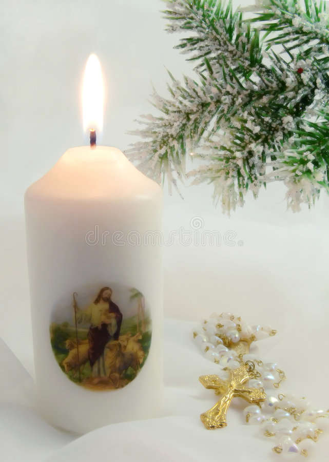 Kerstmis in wit royalty-vrije stock afbeeldingen
