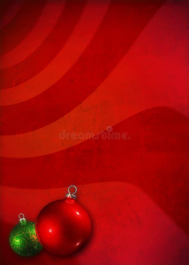 Kerstmisachtergrond van Grunge royalty-vrije stock foto's