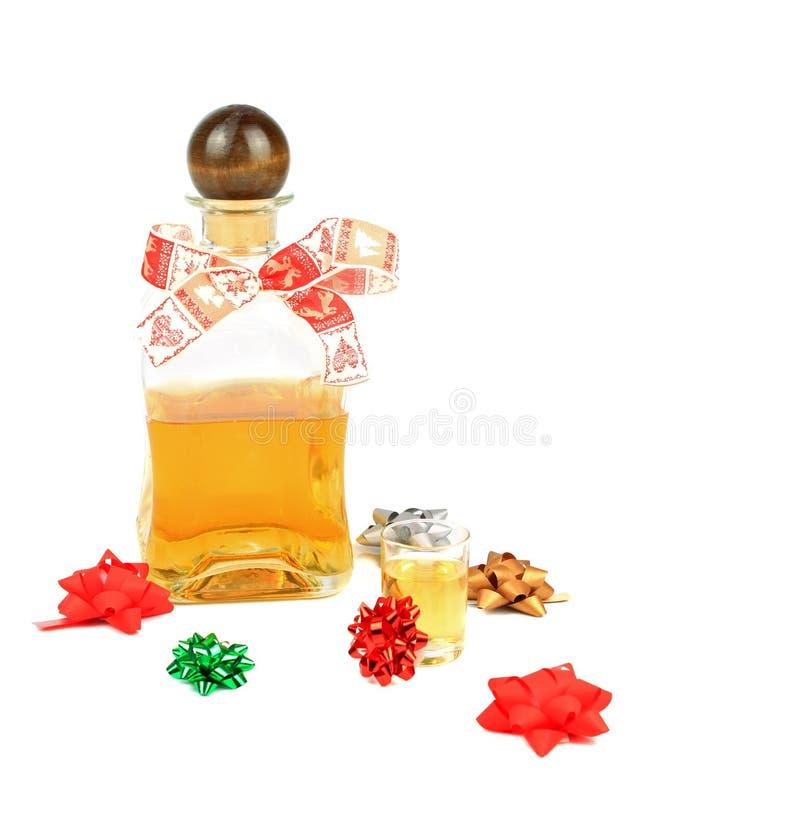 Kerstmisalcohol stock foto's
