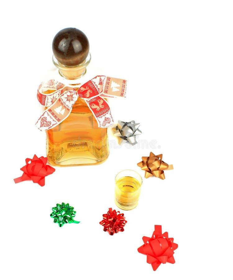 Kerstmisalcohol royalty-vrije stock foto's