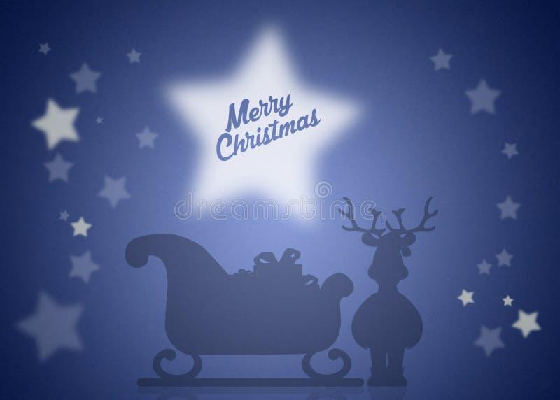 Kerstmisar stock illustratie