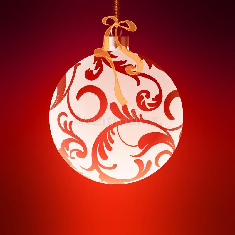 Kerstmisballen stock afbeeldingen