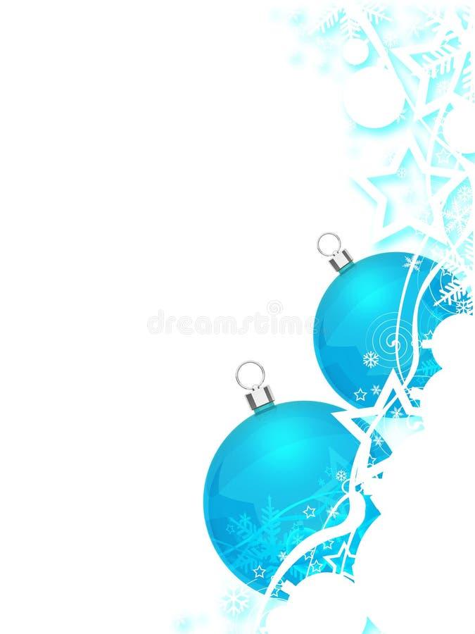 Kerstmisballen vector illustratie