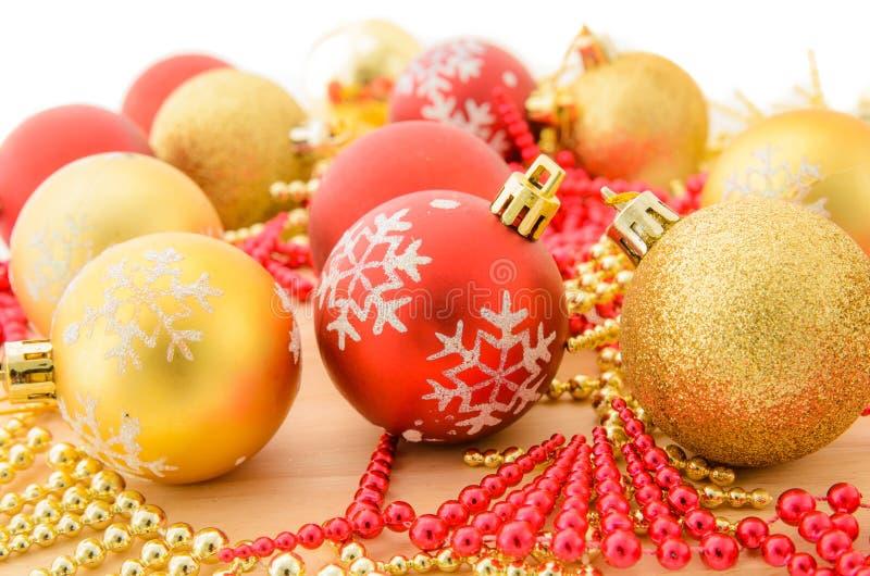 Kerstmisballen royalty-vrije stock afbeeldingen