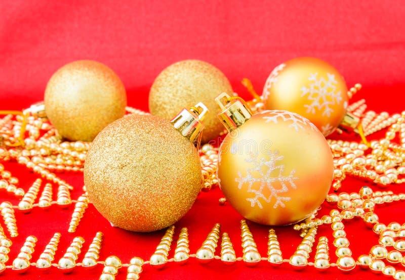 Kerstmisballen royalty-vrije stock foto