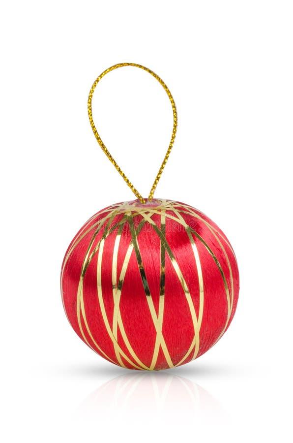 Kerstmisballen kleurrijk op witte achtergrond royalty-vrije stock foto's