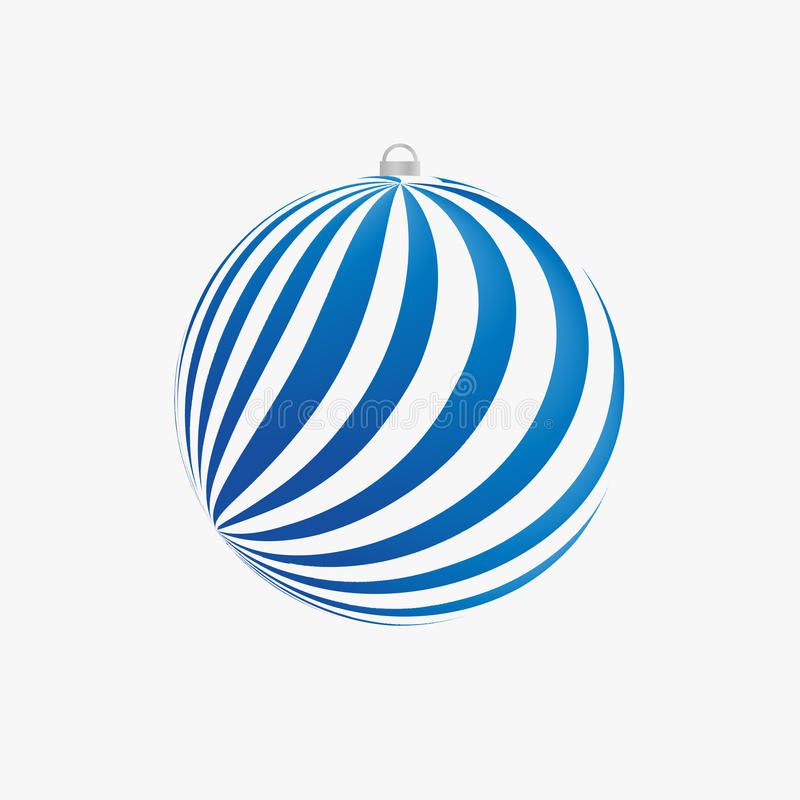 Kerstmisbol royalty-vrije illustratie