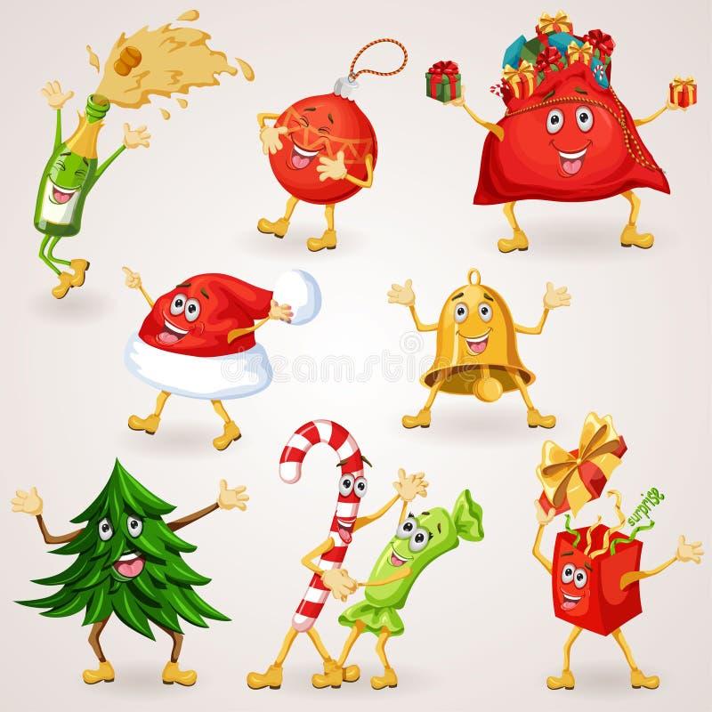 Kerstmisbrief aan Santa Claus vector illustratie