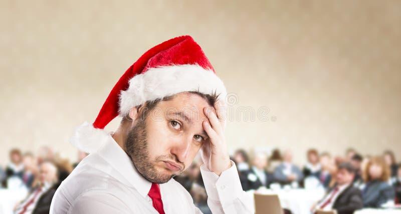 Kerstmisconferentie stock afbeeldingen