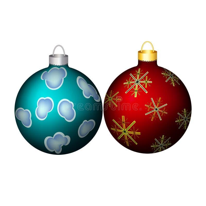 Kerstmisdecoratie, ornament stock afbeelding