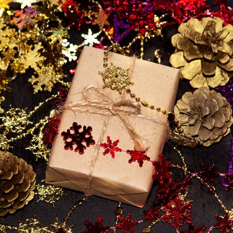 Kerstmisdoos royalty-vrije stock afbeeldingen