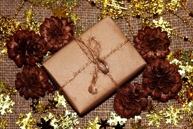 Kerstmisdoos stock afbeeldingen
