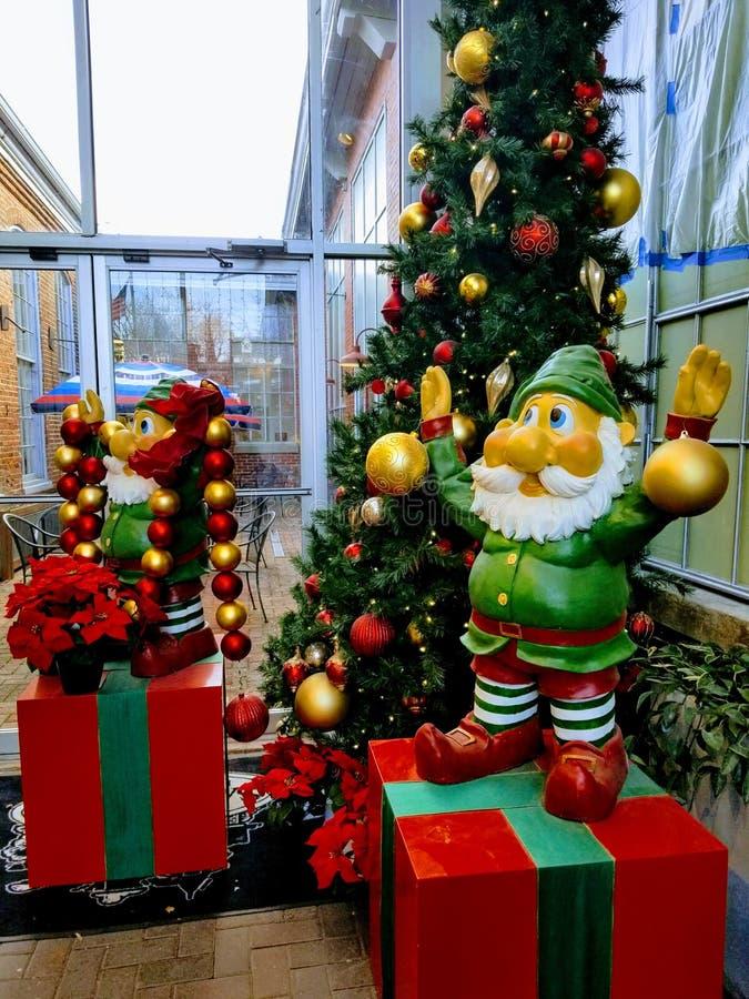 Kerstmiself stock foto's
