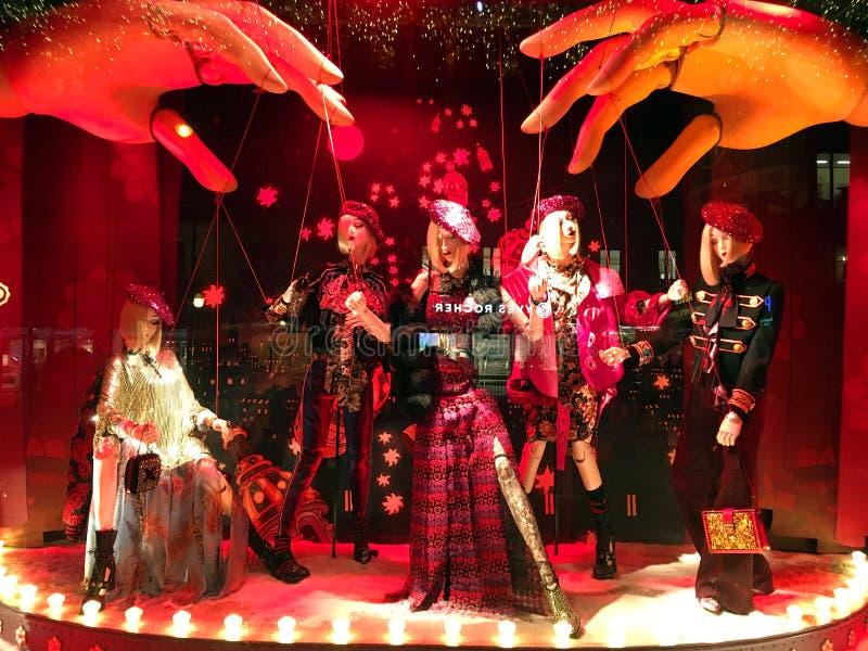 Kerstmisfantasie stock afbeeldingen