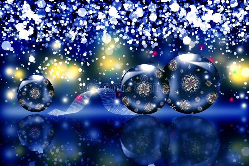 Kerstmisgebied stock illustratie