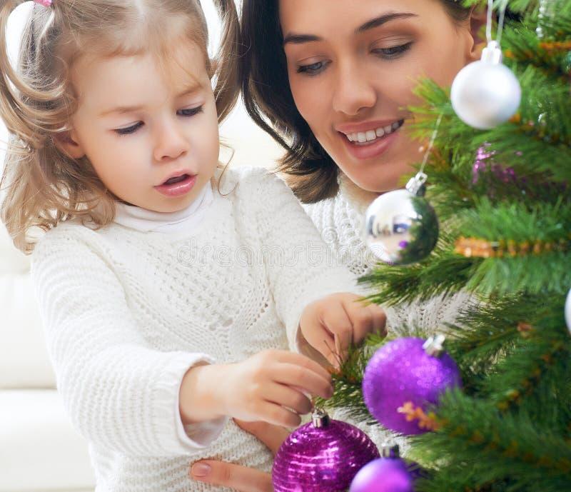 Kerstmisgift stock afbeelding