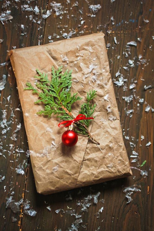 Kerstmisgift stock fotografie