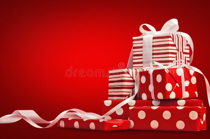 Kerstmisgiften royalty-vrije stock fotografie