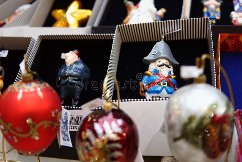 Kerstmisgiften in de GOM, Moskou, Rusland stock fotografie