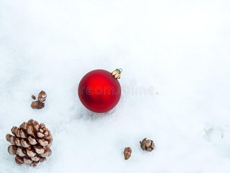 Kerstmisgrens met exemplaar-ruimte royalty-vrije illustratie