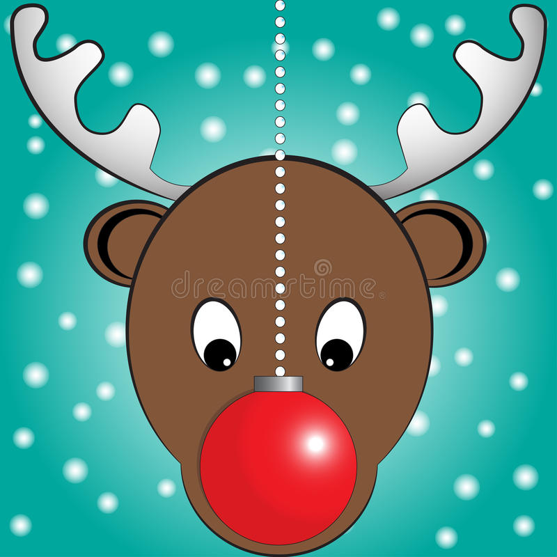 Kerstmisillustratie royalty-vrije stock fotografie